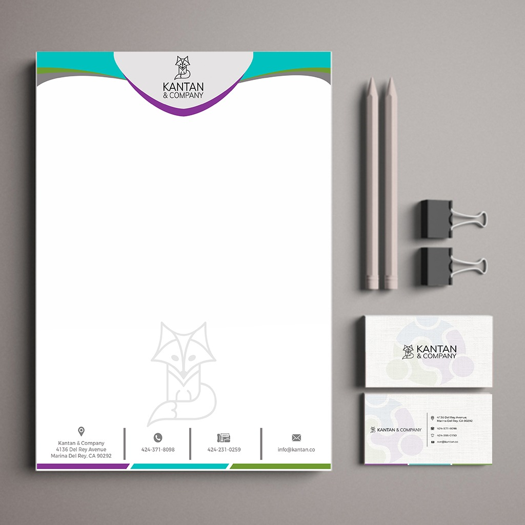 Sourish created this stationery