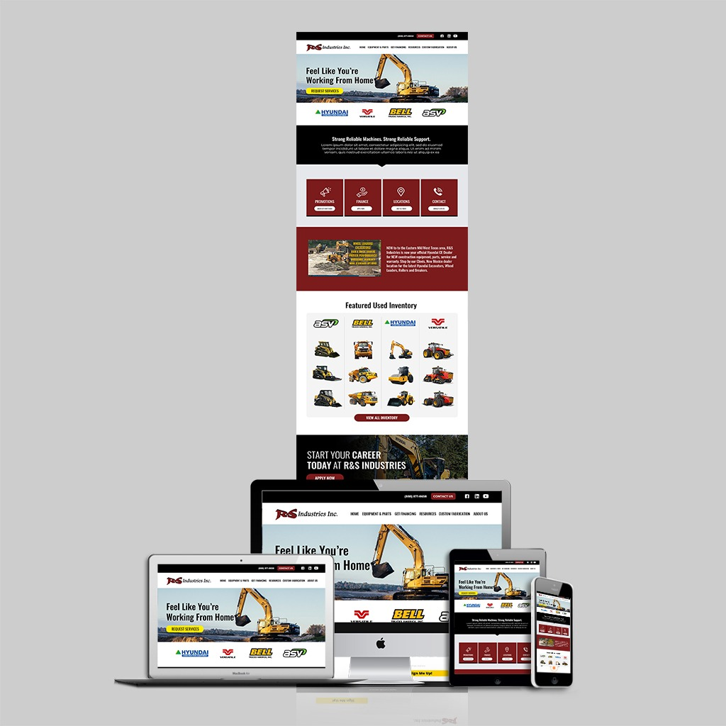 R&S Industries Website